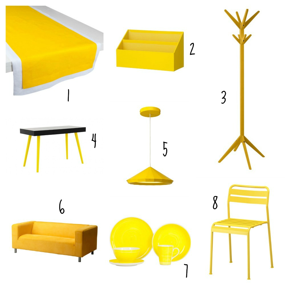 Une d co jaune et jolie oh lovely place for Decoration interieur bibelot