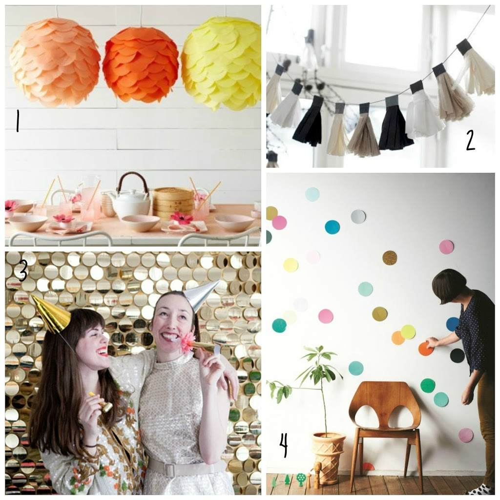 DIY pour party : photobooth, pinata, guirlandes...
