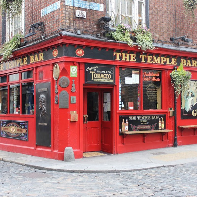 Temple bar Dublin oh lovely place