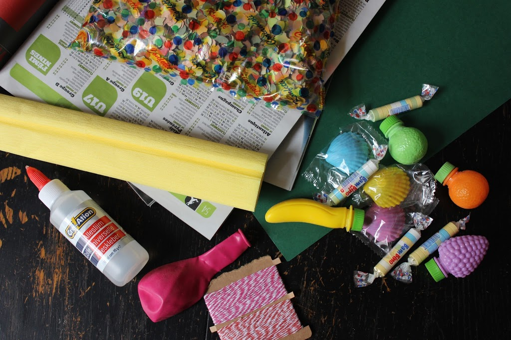 DIY oh lovely place - Une piñata ananas